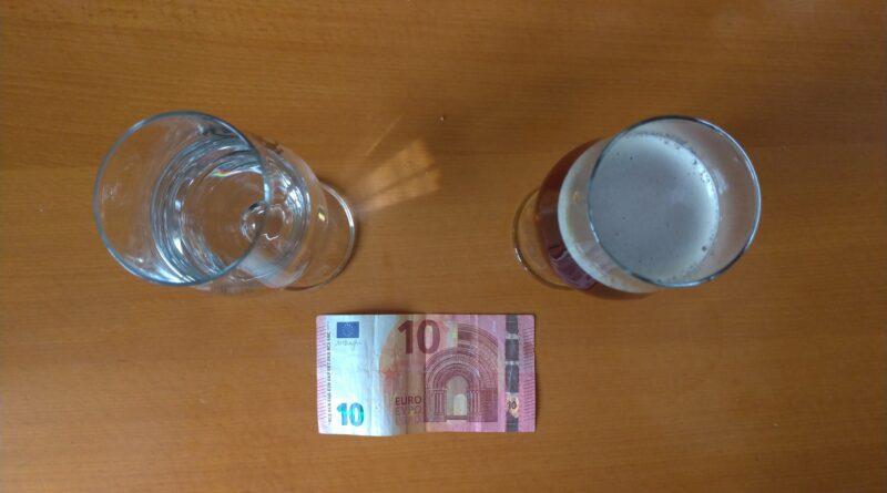 Acqua e birra: quanto mi costi?